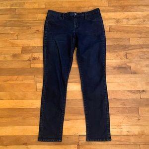 4/$40 - CALVIN KLEIN Dark Blue Jegging - Size 12